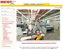 Berliner Stoffdruckerei – Virtueller Rundgang durch die Produktionshallen und Räume