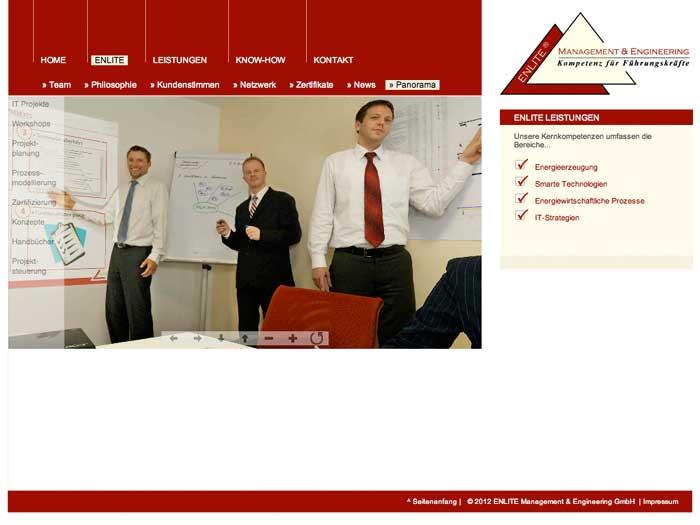 Enlite - Interaktives Team Panorama