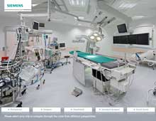 Siemens Healthcare – Interaktive 360° Panoramen in Berlin und Bad Neustadt