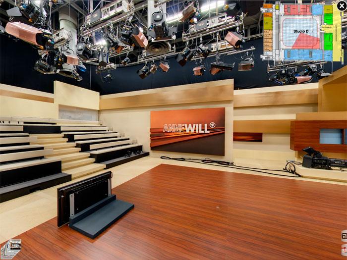 Studio Berlin Adlershof - Aufbau Anne Will
