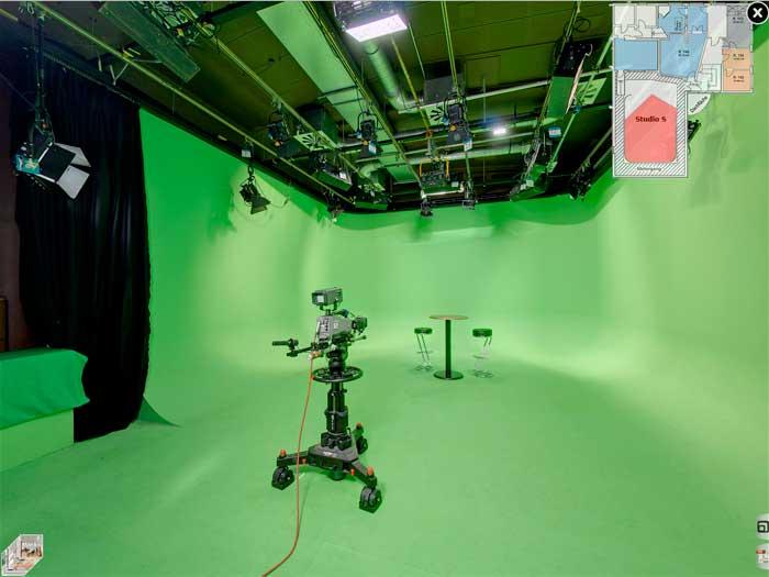 Studio-Hamburg - Greenscreen Studio S
